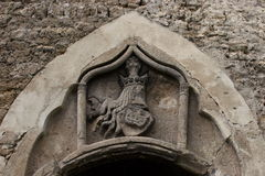 Detail of old castle of Jajce Royalty Free Stock Images