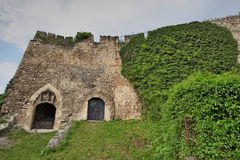 Detail of old castle of Jajce Royalty Free Stock Photos
