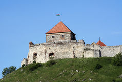 Detail from the old castle at Sumeg Stock Image