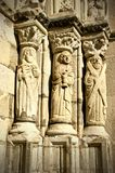 Detail of old cathedral of Viana do Castelo royalty free stock photography
