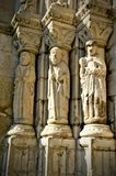Detail of old cathedral of Viana do Castelo stock images