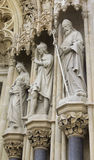 Detail of the old cathedral in Zagreb Stock Photography