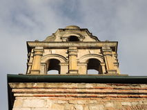 Detail of a old colonial building. Royalty Free Stock Photos