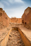 Detail of old colonial fort in Morocco Royalty Free Stock Photography