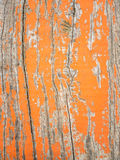 Detail of old cracked painted wood Royalty Free Stock Photography