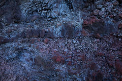 Detail of old crumbling stone surface Royalty Free Stock Image
