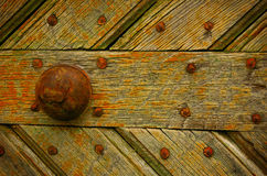 Detail of old door Royalty Free Stock Photos