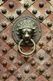 Detail of old door Royalty Free Stock Image