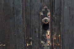 Detail of Old Door Stock Images