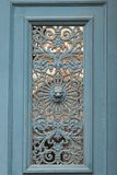 Detail of an old door in Paris Stock Photo