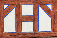 Detail of old frame house. Detail of old historic frame house stock image