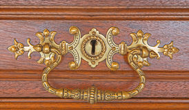Detail of old furniture Stock Photography