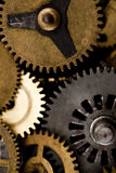 Detail of old gears Royalty Free Stock Photos