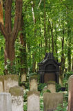 Detail of a old graveyard in Berlin Stock Images