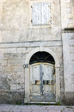 Detail of an old house (Prcanj, Montenegro) Royalty Free Stock Photos