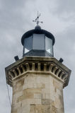 Detail of the old lighthouse called Farul Genovez (Genovese lighthouse) Stock Photo