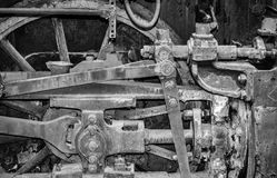 Detail of an old locomotive Royalty Free Stock Images