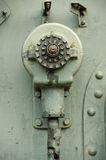 Detail of Old Military Machine Royalty Free Stock Photography