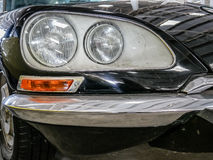 Detail of old mythic french car Royalty Free Stock Photos