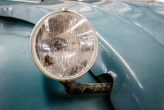 Detail of old mythic french car Stock Photo