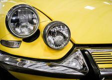 Detail of old mythic french car Royalty Free Stock Photography
