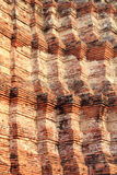 Detail of old pagoda in Ayutthaya Stock Photography