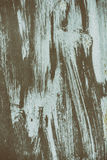 Detail of the old painted metal surface with clear structure, closeup royalty free stock photos