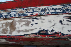 Detail of old paintwork Royalty Free Stock Photos