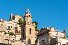 Detail of the old Ragusa Ibla Stock Images