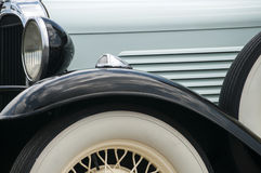 Detail of old retro car Royalty Free Stock Images