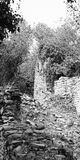 detail of old ruins Royalty Free Stock Image