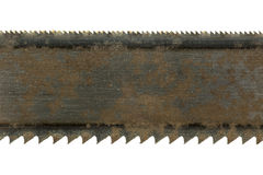Detail of an old saw blade Stock Image