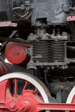 Detail from an old steam locomotive Royalty Free Stock Photography