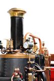 Detail of old steam machine Stock Photos