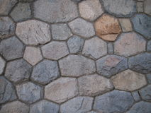 Detail of old stone wall Royalty Free Stock Photography