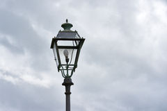 detail of old street lamp Stock Photos
