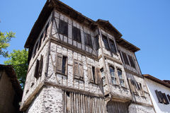 Detail, Old style Turkish konak country house Royalty Free Stock Photography