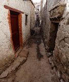 Detail from old town - Leh - ladakh - India Stock Photos