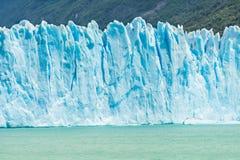 Perito Moreno Glacier in Argentina. Detail of a old turquoise ice of Perito Moreno glacier. Los Glaciares national park, Argentina Royalty Free Stock Photo