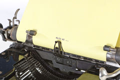 Detail of Old Typewriter Royalty Free Stock Images