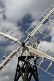 Detail of old windmill, Norfolk Broads Stock Photography
