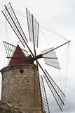 Detail of old windmill Stock Photos