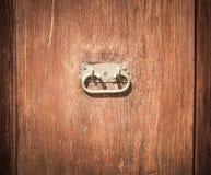 Detail of old wood door Royalty Free Stock Image