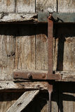 Detail Of Old Wooden Door Royalty Free Stock Images