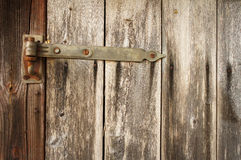 Detail of old wooden door Royalty Free Stock Image