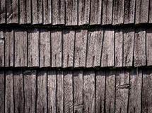 Detail of an old wooden wall Royalty Free Stock Images