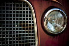 Detail of an oldtimer stock photos