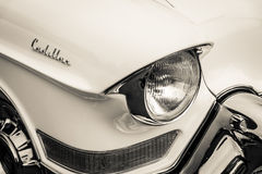 Detail of oldtimer Cadillac Series 62 (Fifth generation) Royalty Free Stock Photography