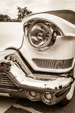 Detail of oldtimer Cadillac Series 62 (Fifth generation). Stock Images