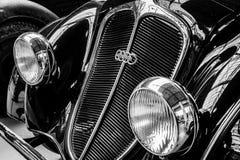 Detail of the oldtimer DKW Schwebeklasse Royalty Free Stock Photos